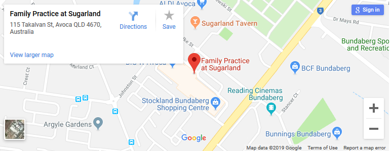 bundaberg-doctors-map-sugarland